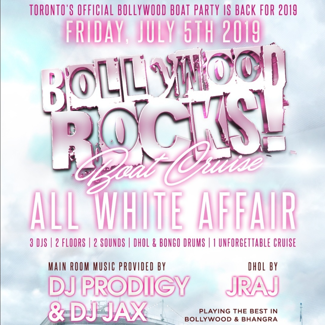 BOLLYWOOD ROCKS: ALL WHITE AFFAIR