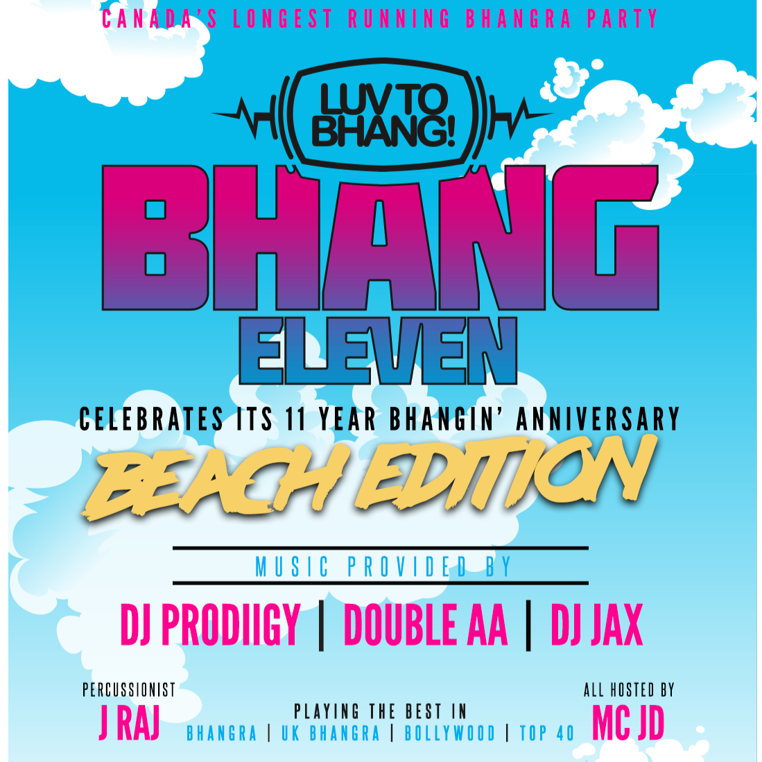 LUV TO BHANG: BHANG 11 | BEACH EDITION