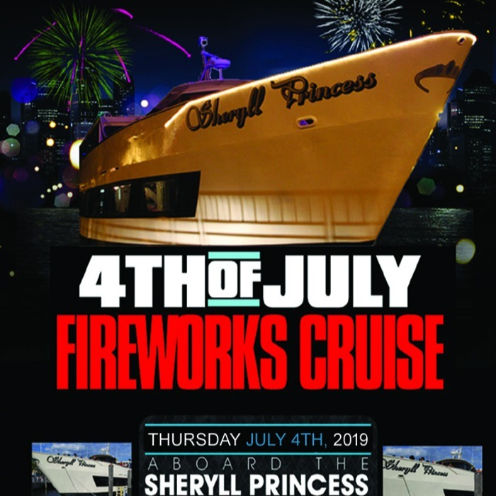 4th of JULY INDEPENDENCE DAY 2019 FAMILY FIREWORKS CRUISE • BROOKLYN, NEW Y