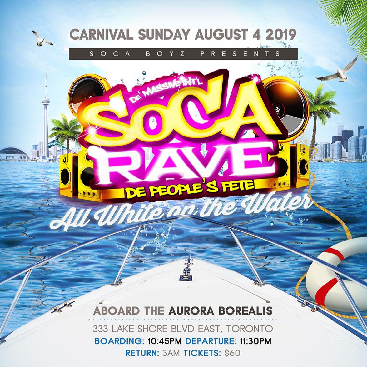 Soca Rave Boat Ride 2019