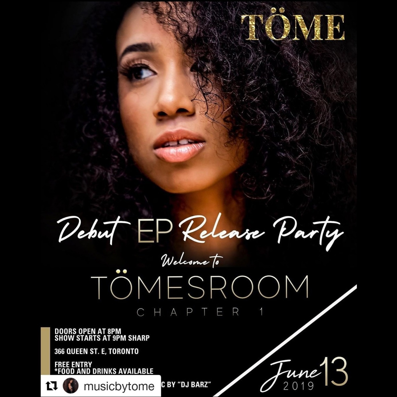 Tome EP Debut Release Party