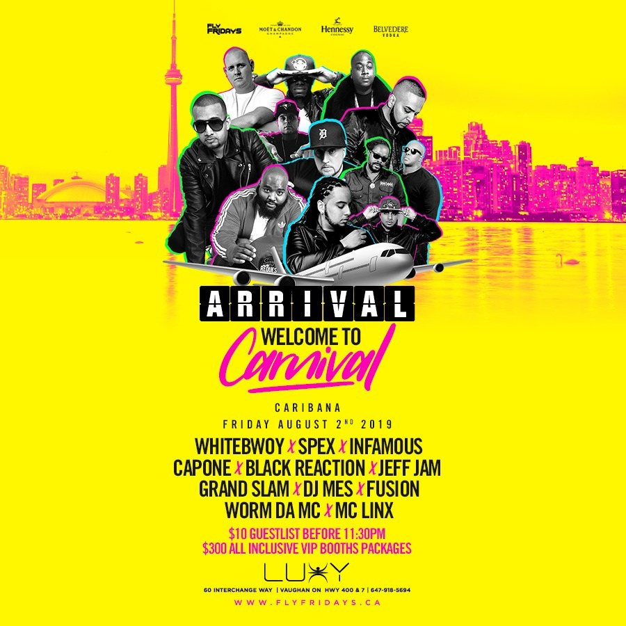 ARRIVAL | Welcome To Carnival | Caribana 2019