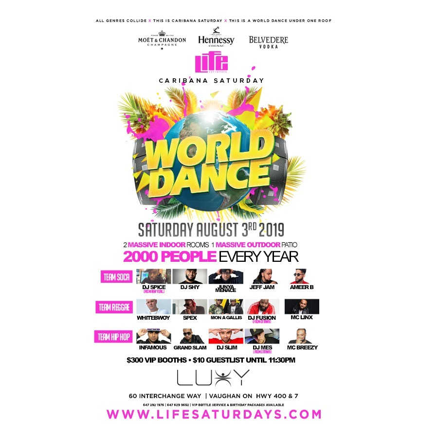 WORLD DANCE 2019 | Caribana | Carnival Saturday