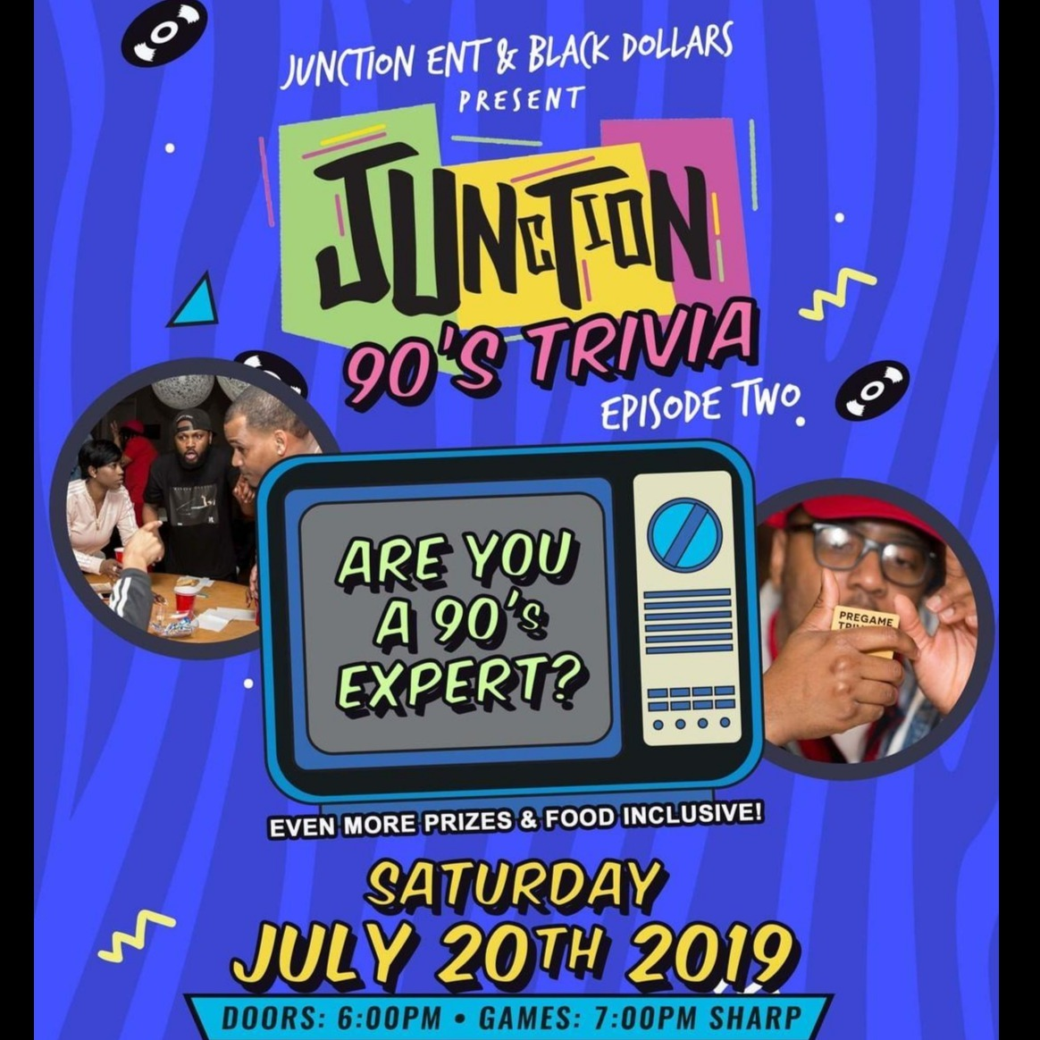 JUNCTION PRESENTS: 90'S TRIVIA GAME NIGHT! Episode #2