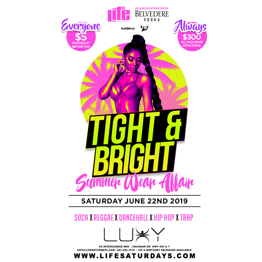 LIFE SATURDAYS : TIGHT & BRIGHT