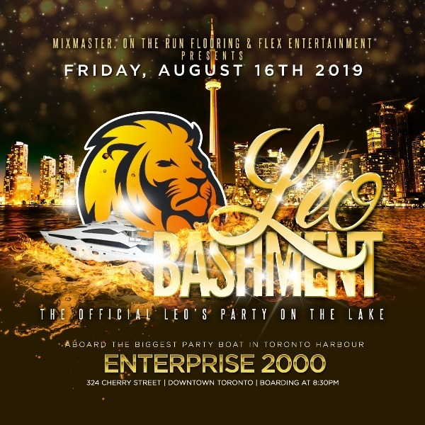 LEO BASHMENT : THE OFFICIAL LEO'S PARTY ON THE LAKE
