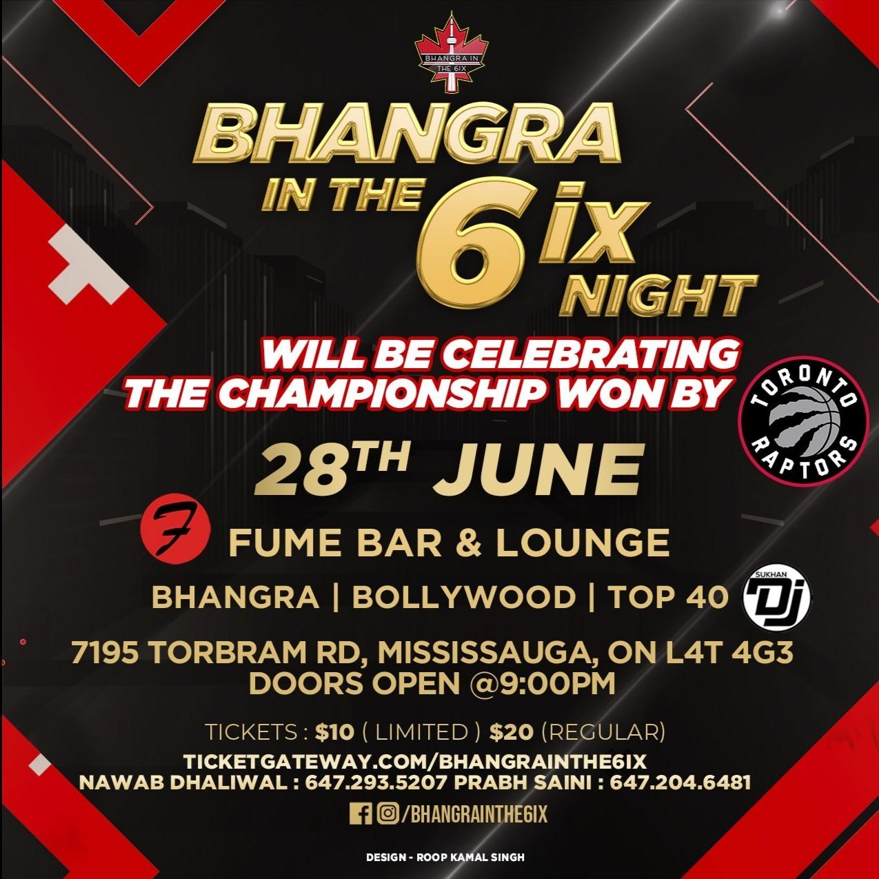 Bhangra In The 6ix - June Night