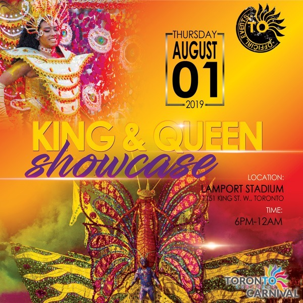 2019 King and Queen Showcase