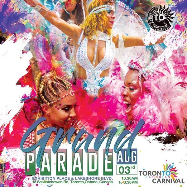 Grand Parade 2019 Caribana Toronto Tickets @Exhibition Place