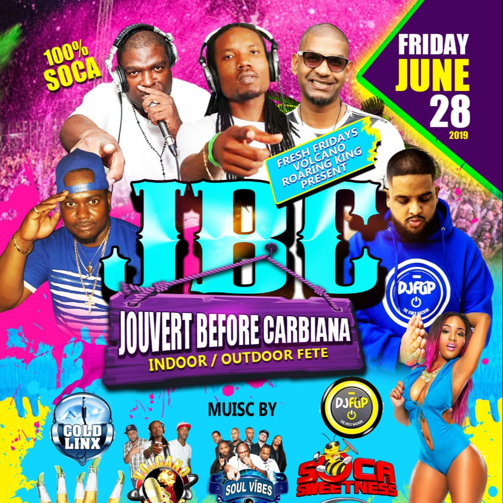 Fresh Fridays - Jouvert Before Caribana @ Calypso Hut (Brampton)