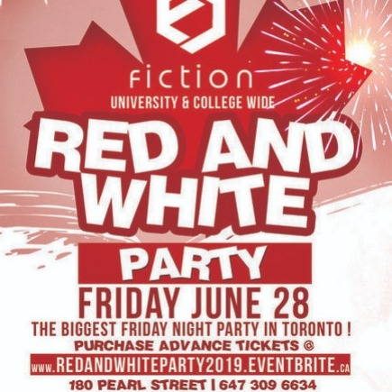 RED & WHITE PARTY @ FICTION NIGHTCLUB | FRIDAY JUNE 28TH