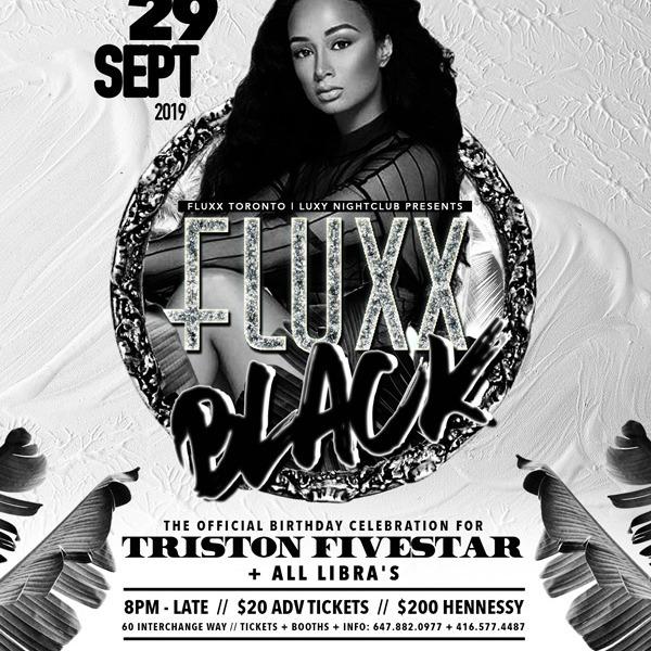 Fluxx - Black - Birthday Celebration Triston