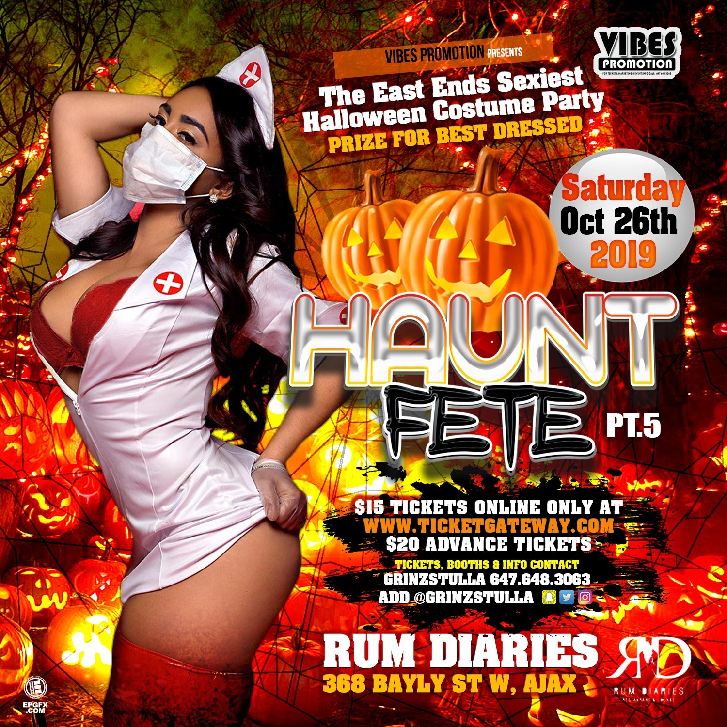 Haunt Fete Part 5 - The East Ends Sexiest Halloween Costume Party