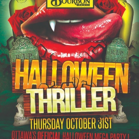 OTTAWA HALLOWEEN THRILLER 2019 @ THE BOURBON ROOM | OTTAWA'S OFFICIAL HALLO
