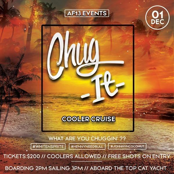 Chug it - Cooler Cruise