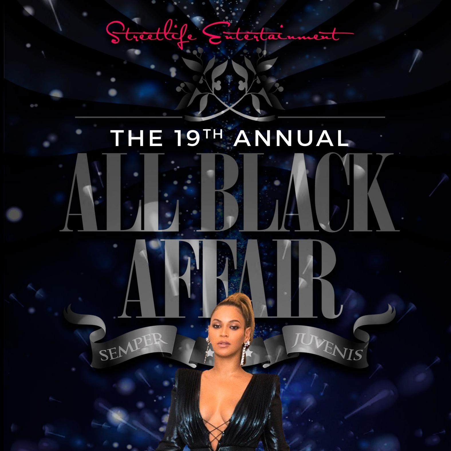 19th Annual All Black Affair
