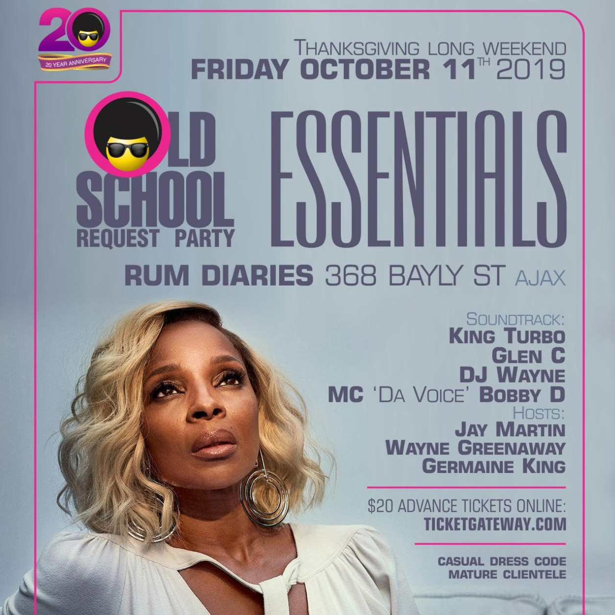 Old School Request Party - Essentials