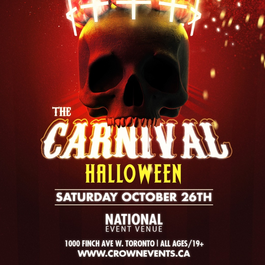 The Carnival Halloween 2019 Toronto Tickets 26 Oct