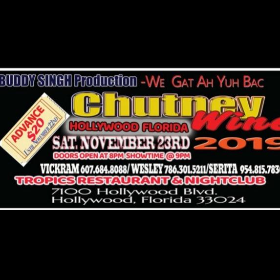Chutney Wine 2019 - Hollywood Florida