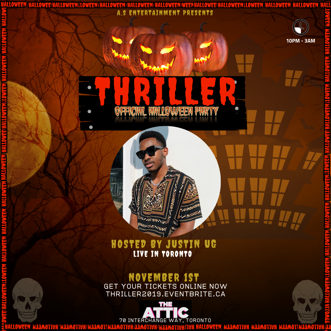 Thriller Official Halloween Party Toronto