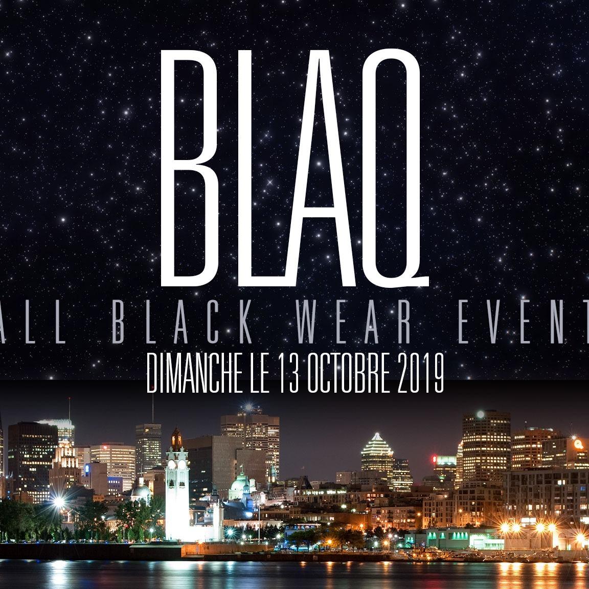 Blaq - All Black Wear Event