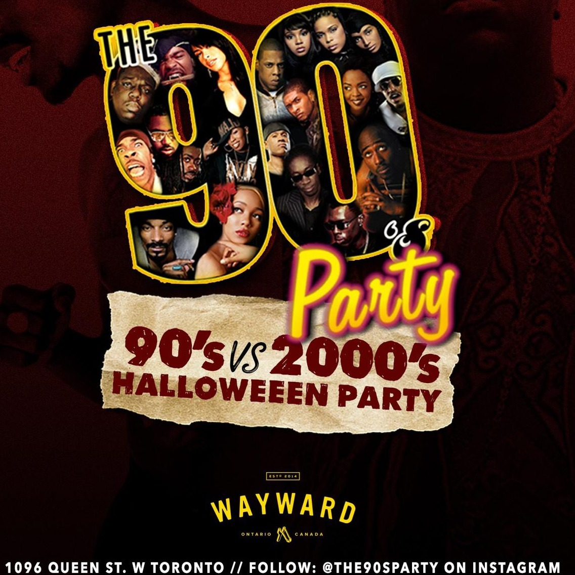 The90sParty Halloween Edition