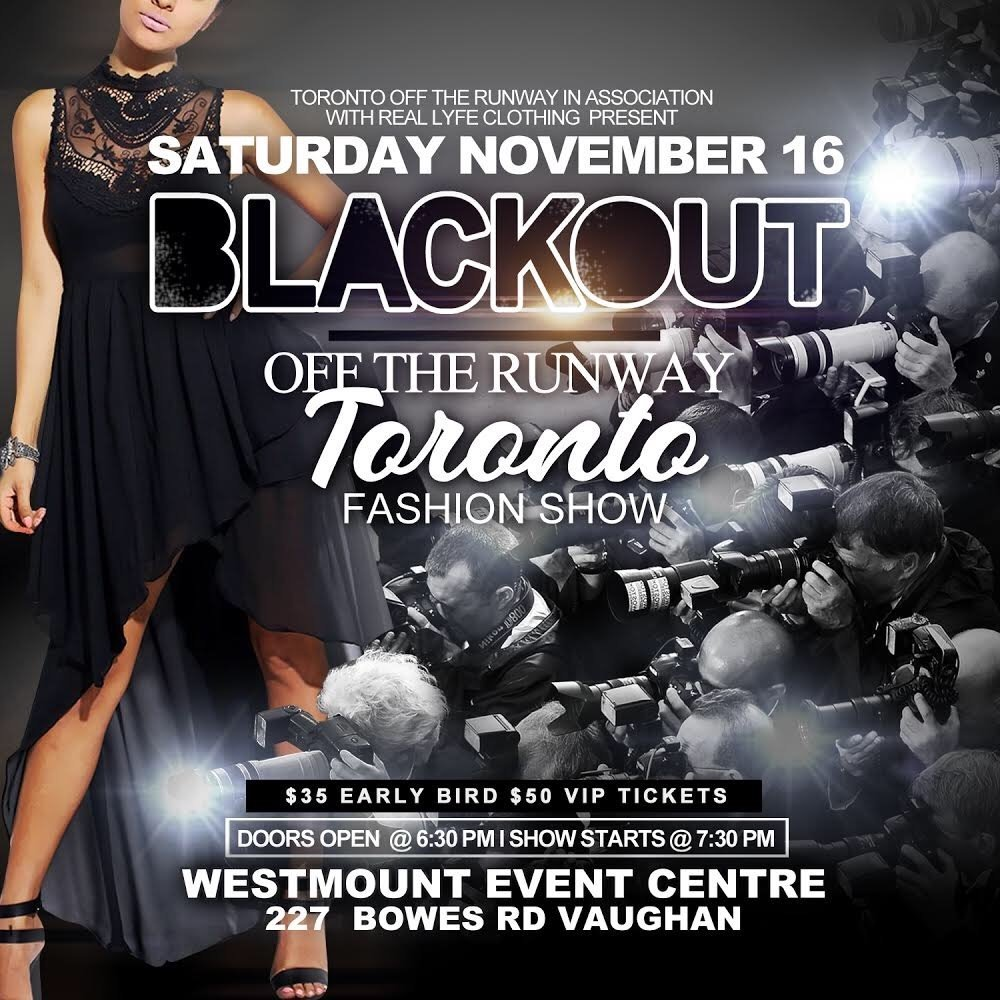 Toronto Off the Runway Presents: BLACKOUT