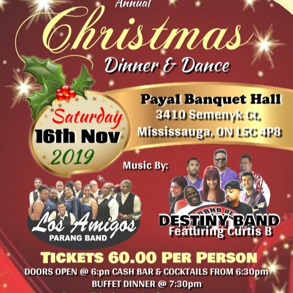 10th Anniversary - Christmas Dinner Dance