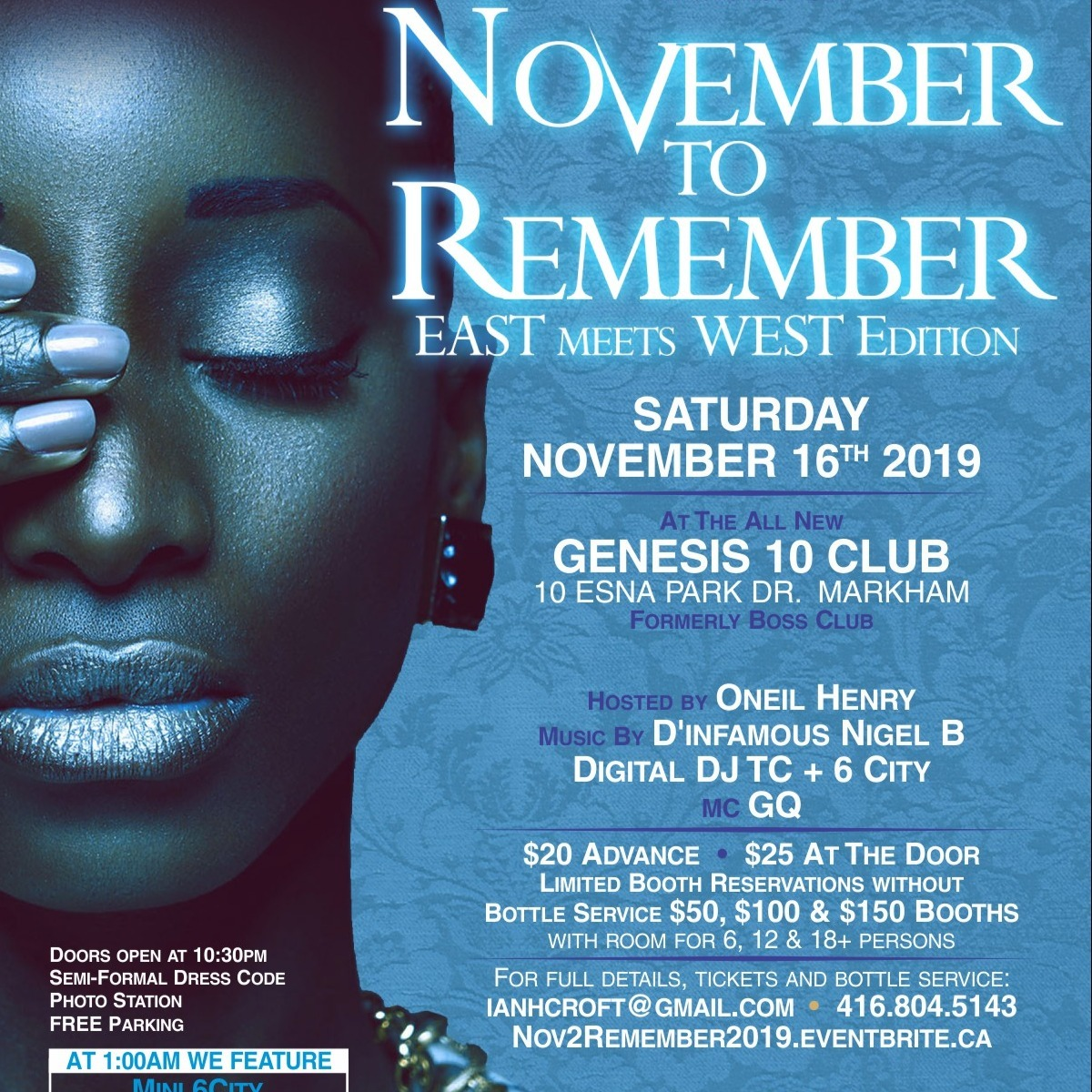 November 2 Remember - East meets West Edition