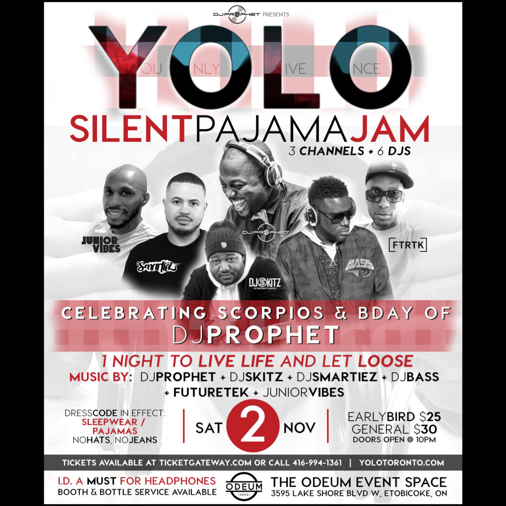 Yolo Silent Pajama Jam