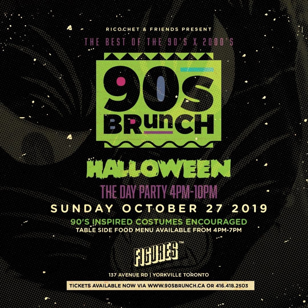 90s BRUNCH HALLOWEEN