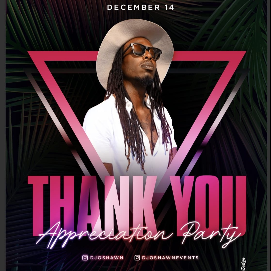 Thank You Appreciation Party