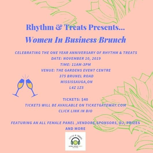 RHYTHM & TREATS PRESENTS: WOMEN IN BUSINESS BRUNCH