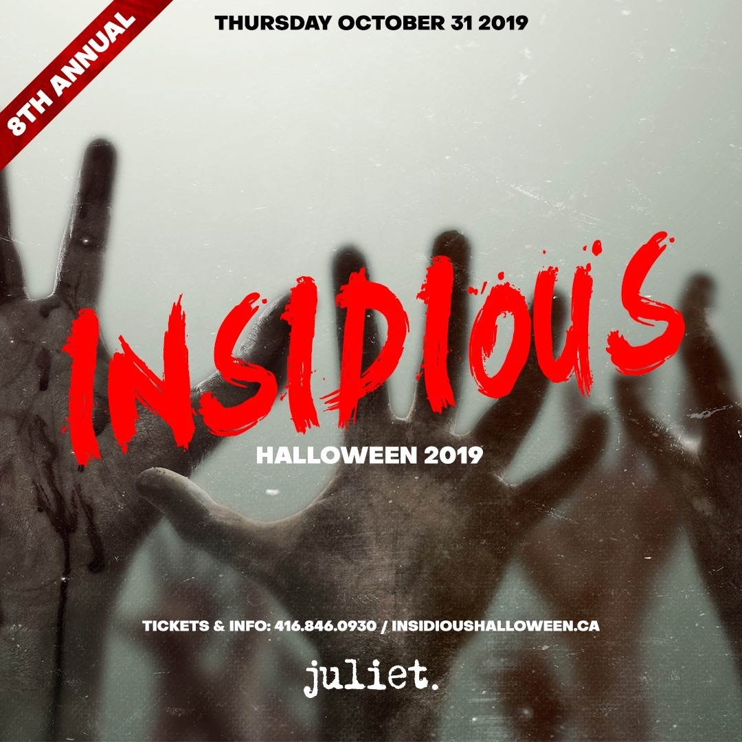The 8th Annual Insidious Halloween Party INSIDE JULIET NIGHTCLUB