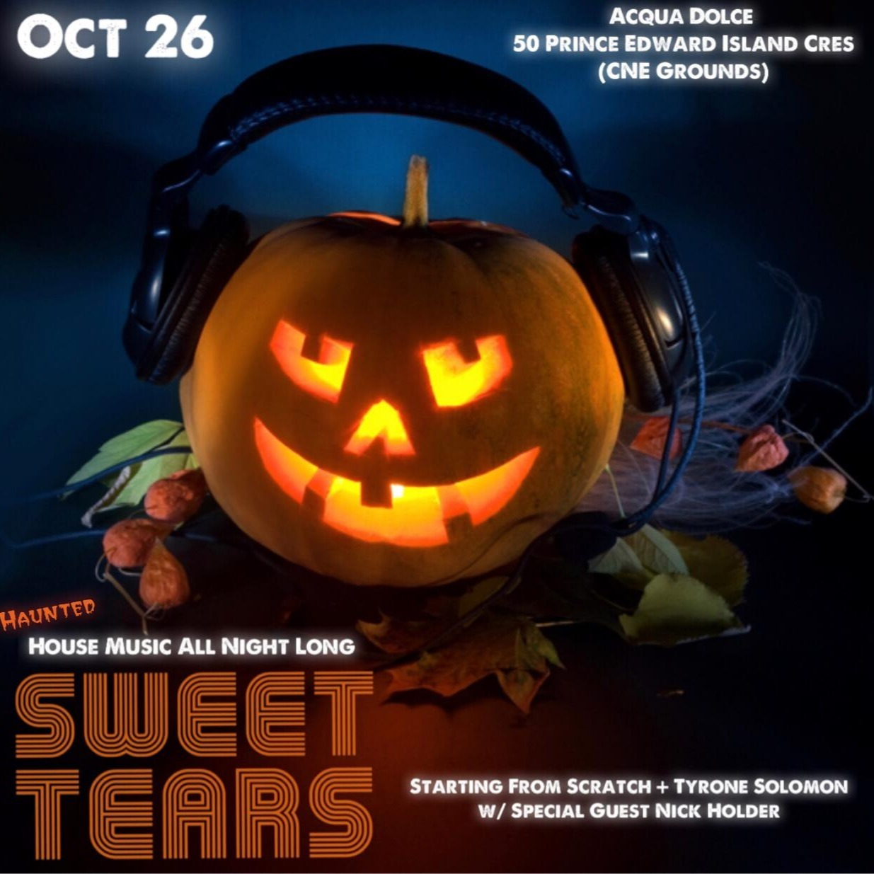 SWEET TEARS - HAUNTED HOUSE MUSIC ALL NIGHT LONG