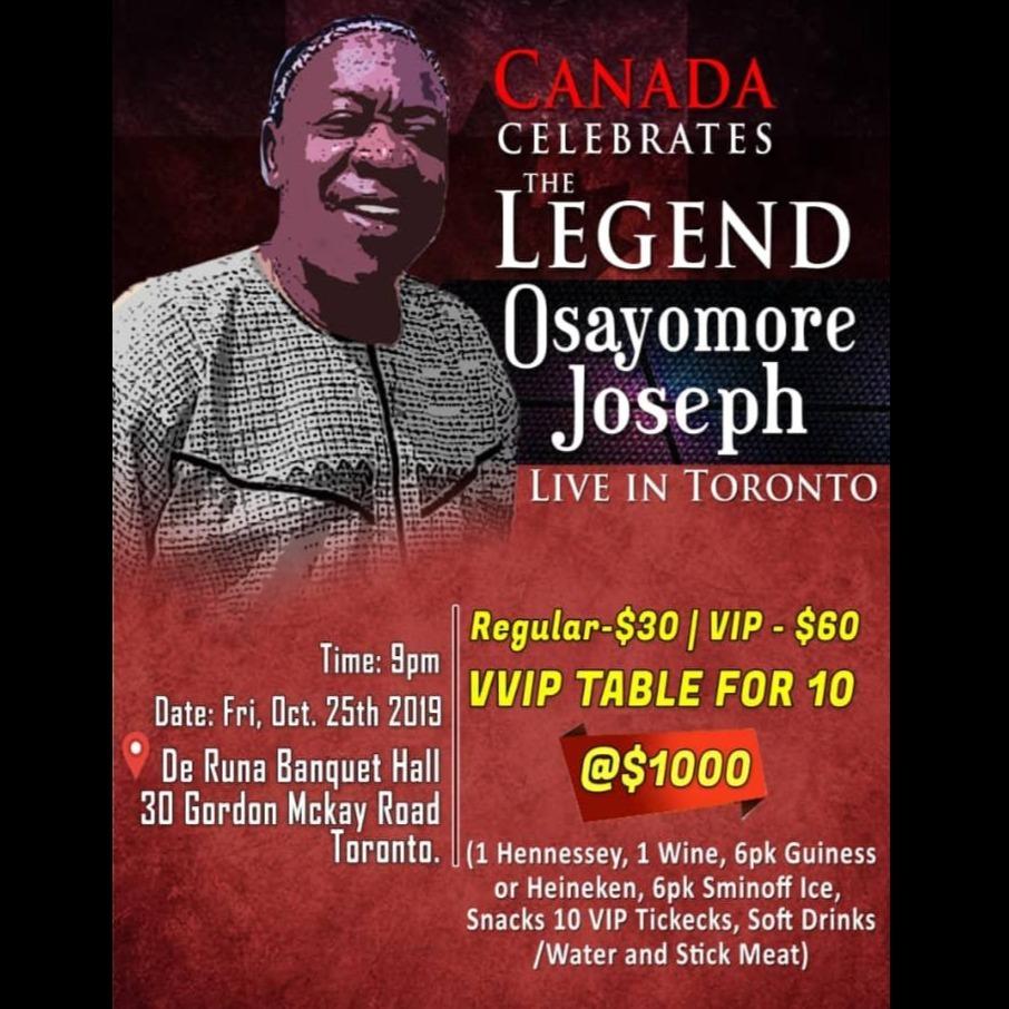 CANADA celebrate the legend Osayomore Joseph