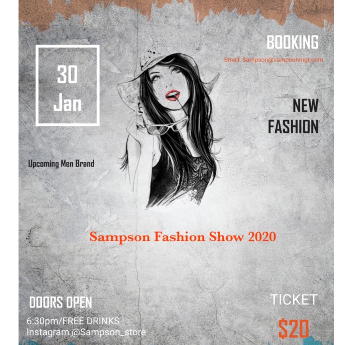 Sampson Fashion Show/Network Event