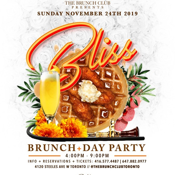 Bliss - Brunch + Day Party