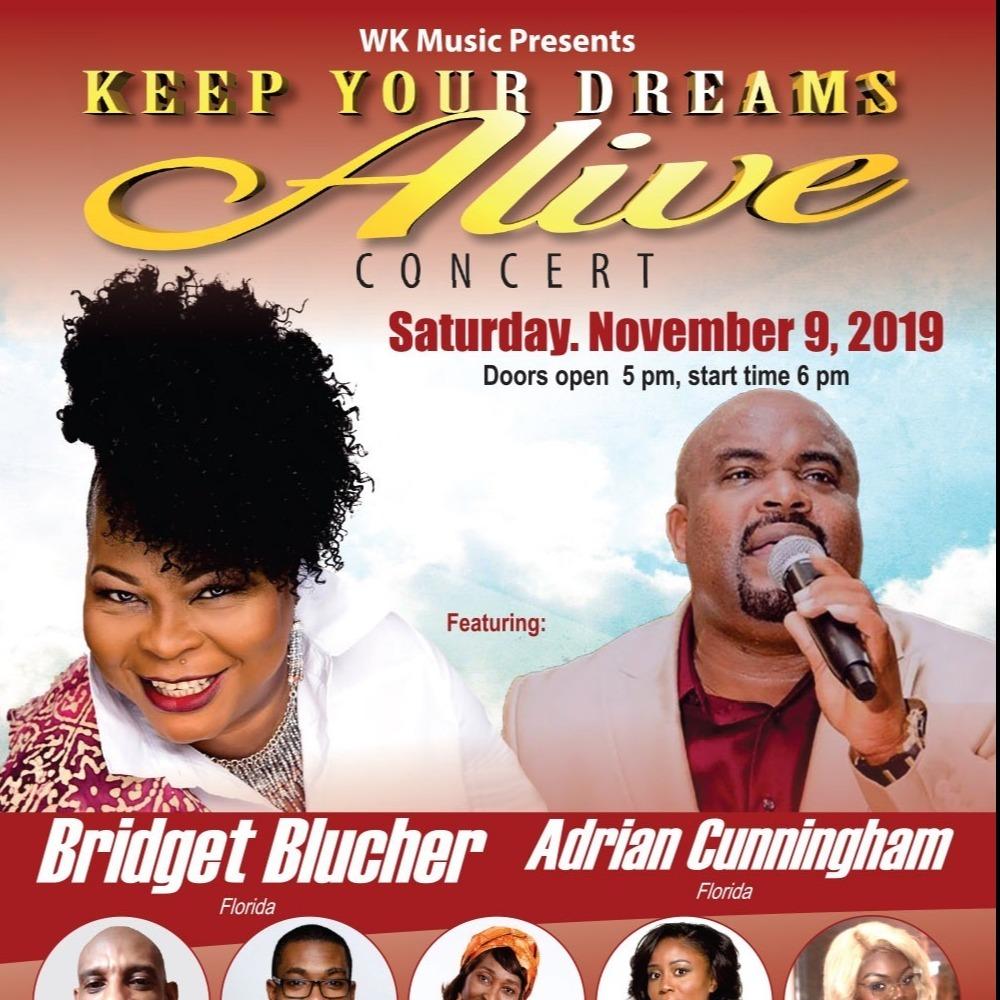Keep Your Dreams Alive Concert November