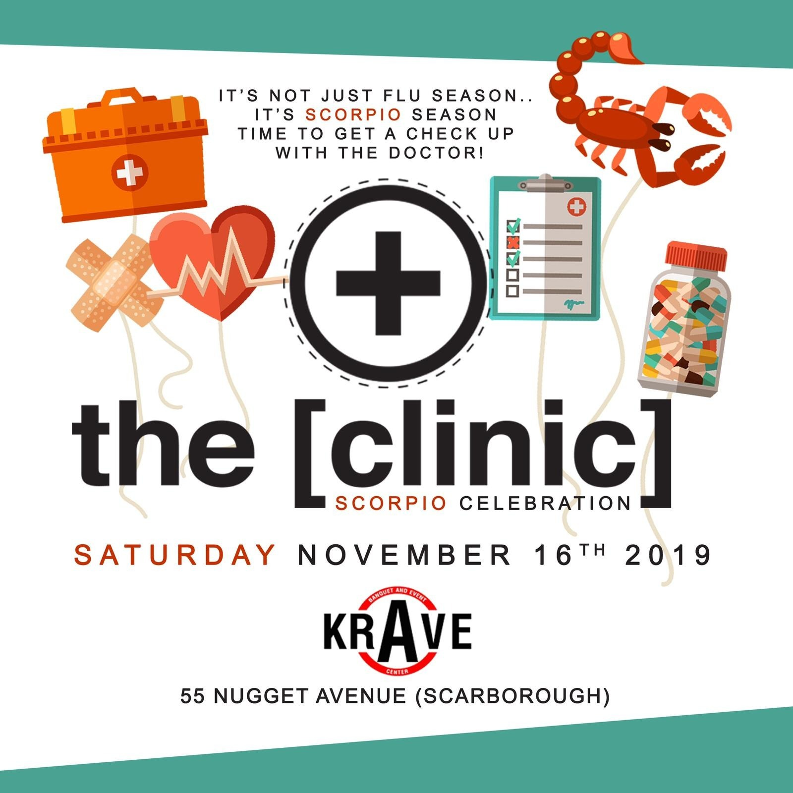 THE CLINIC - Scorpio Celebration