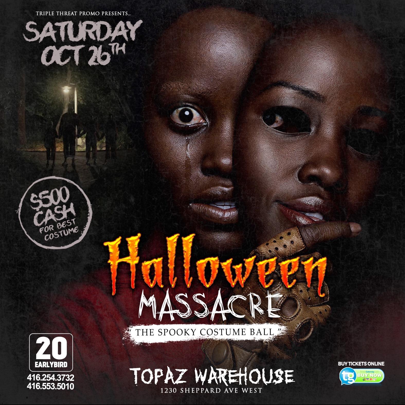 Halloween Massacre (Costume Party)