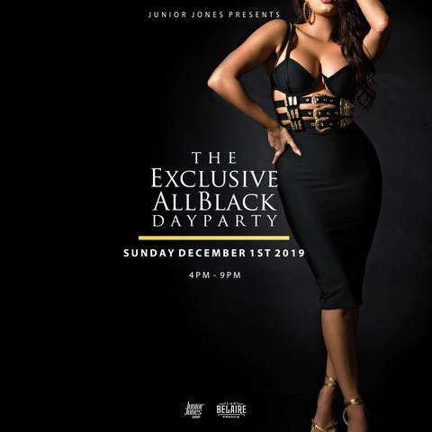 The Exclusive All Black Day Party