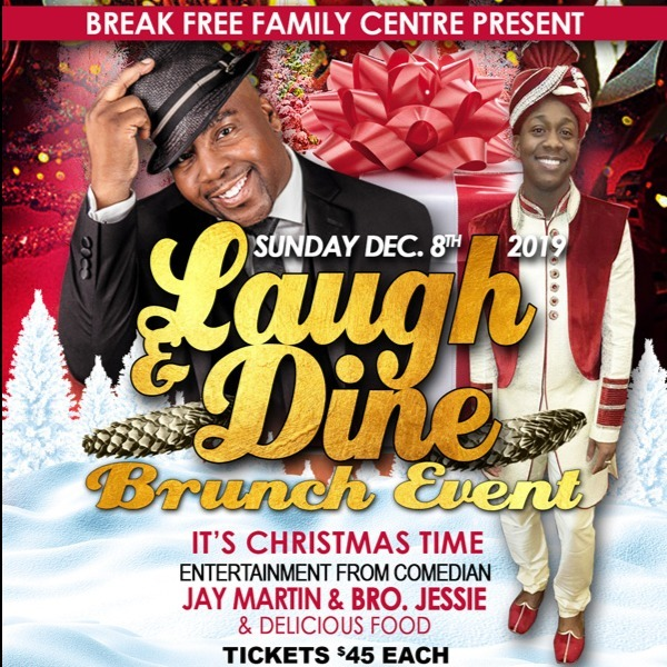 Laugh Dine Brunch Event - It's Christmas Time