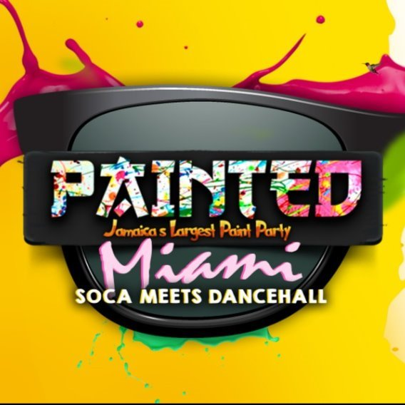 Painted Jamaica (soca, dancehall, edm, paint and water)