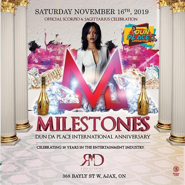 Milestones - Dun Da Place International Anniversary