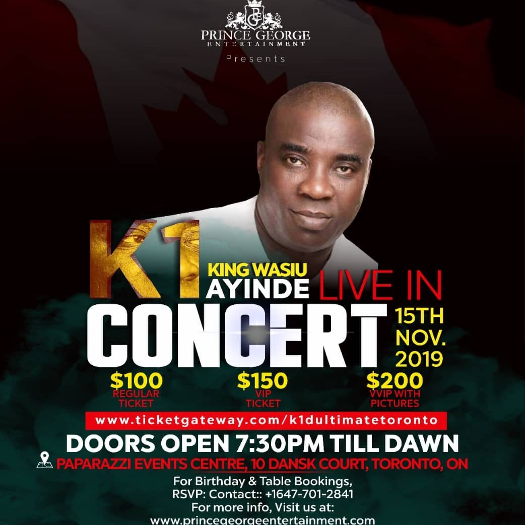 Nigerian Independence Day Party -  K1 D Ultimate Live in Concert