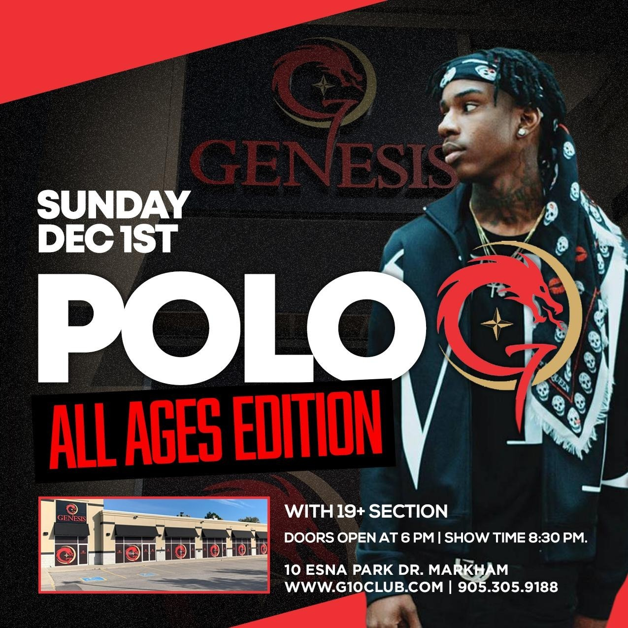 POLO G ALL AGES CONCERT