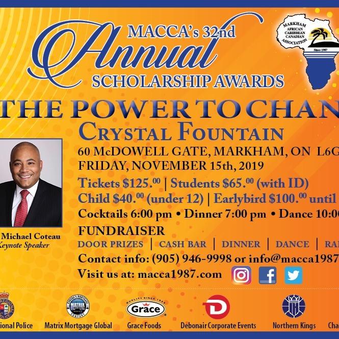 32nd Annual MACCA Scholarship Awards