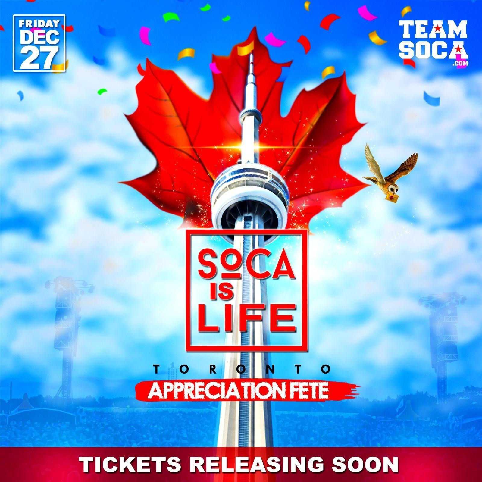 Soca Is Life - Appreciation Fete