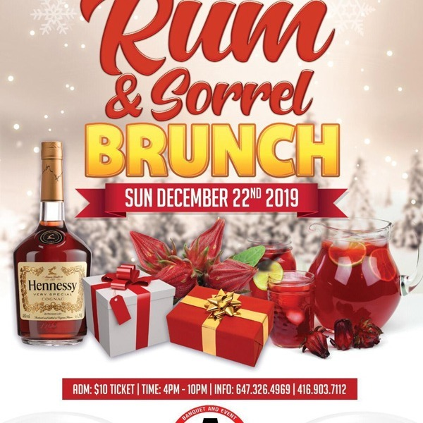 Rum And Sorrel Brunch